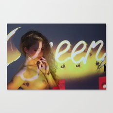 Nicole Hershdog No. 2 Canvas Print