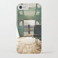 door iPhone & iPod Cases featuring Emergency Door by Rachel Bellinsky