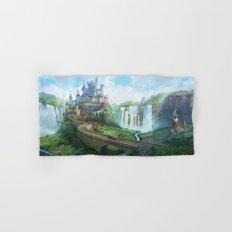 epic fantasy castle  Hand & Bath Towel