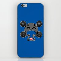 roller derby iPhone & iPod Skins featuring Roller derby xxx by Andrew Mark Hunter