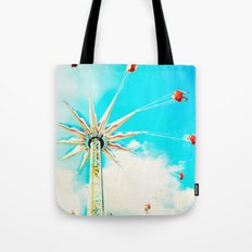 Spink Coney Island Carnival  Tote Bag