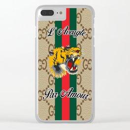 Guci tigear Clear iPhone Case