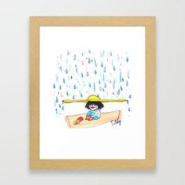 Rain Oh Rain Framed Art Print