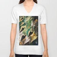 aviation V-neck T-shirts featuring AVIATION  by Matt Schiermeier