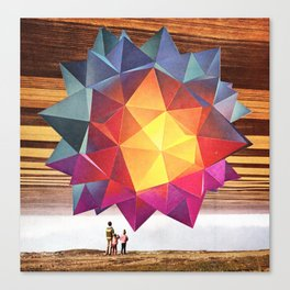 Welcome To The New World IX Canvas Print