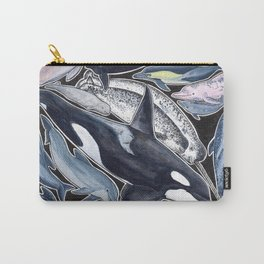 Dolphin, orca, beluga, narwhal & cie Carry-All Pouch