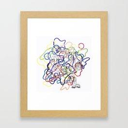 just like us Framed Art Print