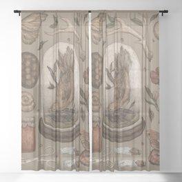 Preserved Memories Sheer Curtain