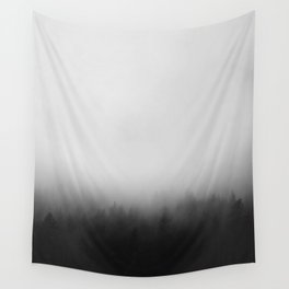 Misty Forest I Wall Tapestry