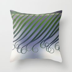 Cycas - leaf born 2664 Throw Pillow