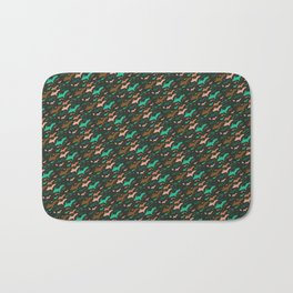Yooper Christmas, Hunter's Colors Bath Mat