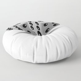 Poker Dice They See Me Rollin Floor Pillow