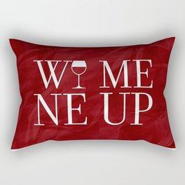 Wine Me Rectangular Pillow