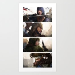 Assassin's Creed unity Art Print