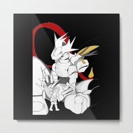 Toy for  Dragon Metal Print