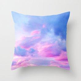 Clouds Series 1 Throw Pillow