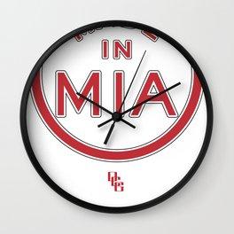 Made in Miami - MIA HEAT Wall Clock
