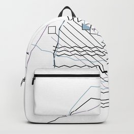 Mountains by the Ocean Backpack