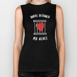 You've Detained My Heart Biker Tank