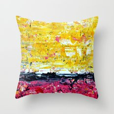 Color Combo #1 Throw Pillow