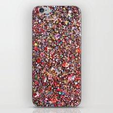 Bubblegum Alley V iPhone & iPod Skin