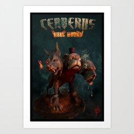 Cerberus: Hell Hound Art Print