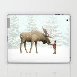Winter Moose Laptop & iPad Skin