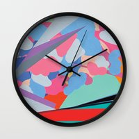 gucci Wall Clocks featuring (Gucci) Amongst Other Things by Andrew Agutos