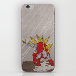 Stegolossus - Superhero Dinosaurs Series iPhone Skin