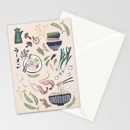 Ramen Bowl Stationery Cards