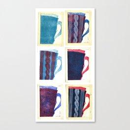 My Snugg Mug Canvas Print