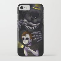 fnaf iPhone & iPod Cases featuring NIGHTMARE by DreaminInsomniac