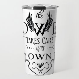 The Tower of Sorcerers Motto Travel Mug