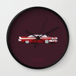 Christine | Famous Cars Wall Clock