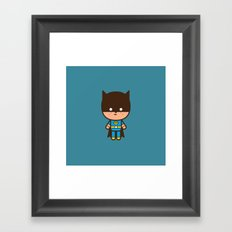 #51 The Bat man Framed Art Print