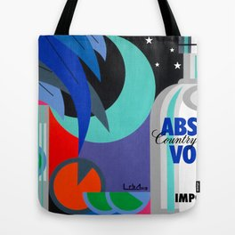 Absolut at Night - Paint Tote Bag
