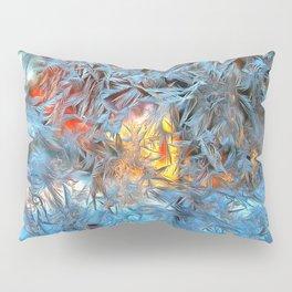 Frozen window Pillow Sham