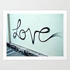 Miami Love Art Print