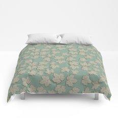 Vintage Leaves Comforters