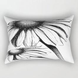 Double Cone Flower Rectangular Pillow