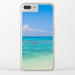 Kayaking New Caledonia Clear iPhone Case