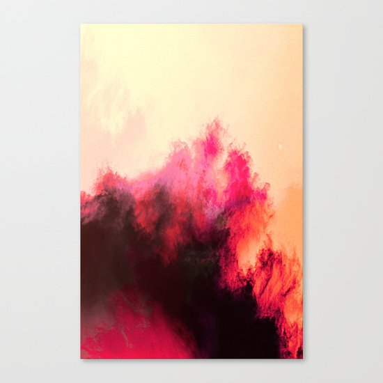 Painted Clouds II Canvas Print
