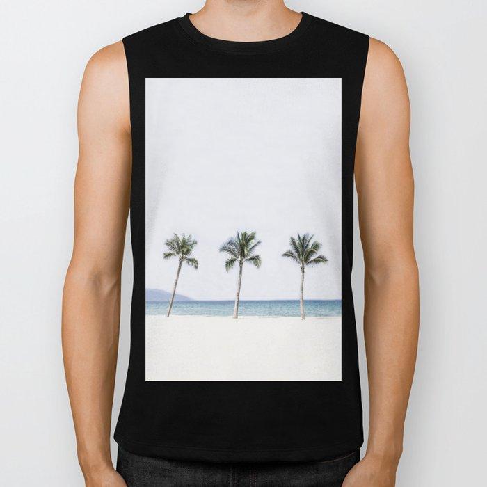 Palm trees 6 Biker Tank