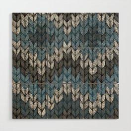 knit3 Wood Wall Art