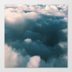Blue Clouds Canvas Print