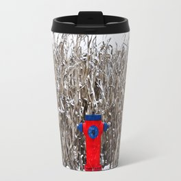 Fire hydrant somewhere (Why there ?) Travel Mug