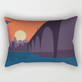Stone Arch Abduction Rectangular Pillow