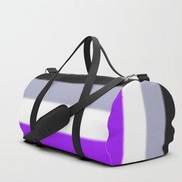 Asexual Pride Flag Duffle Bag