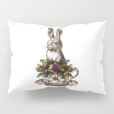 Rabbit in a Teacup Pillow Sham