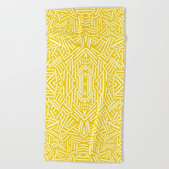 Radiate - Freesia Beach Towel